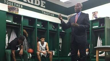 Bernard Tomlin, SUNY Old Westbury men's basketball head