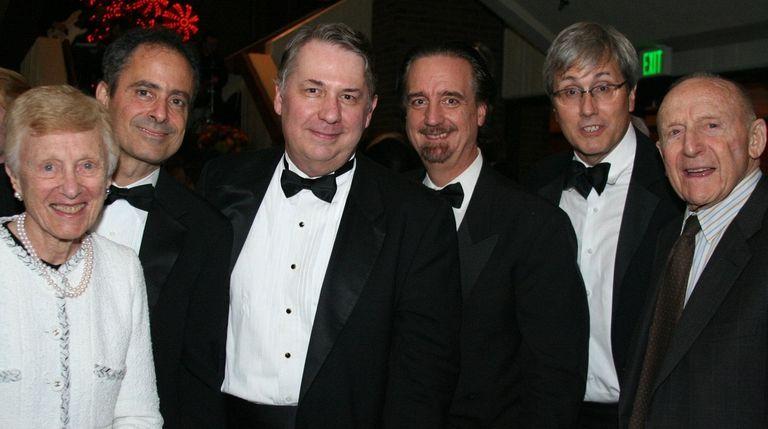 Pearl (Freddie) Staller, left, and Erwin Staller, far