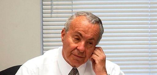 David Mack, then-vice chairman of the MTA, at