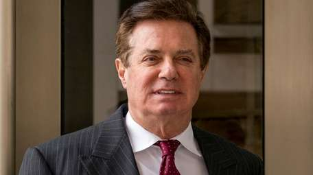 Paul Manafort, President Donald Trump's former campaign chairman,