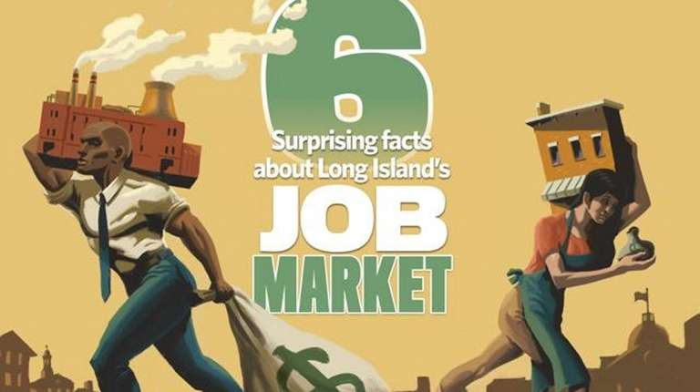 Six surprising facts about Long Island's Job Market.