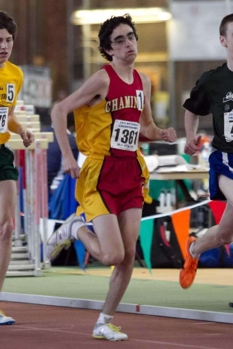 Chaminade's Thomas Awad competes in the 1600 meter