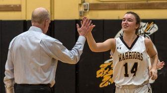 Wantagh High School Girls Basketball player, Irene Huguet