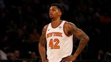 Lance Thomas, the longest-tenured Knick, has lost playing