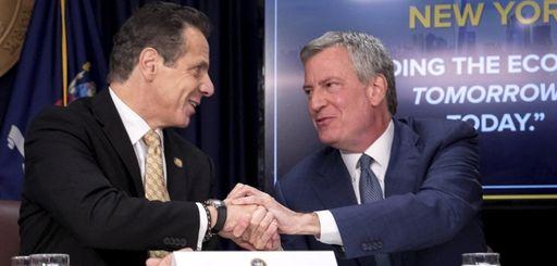 Gov. Andrew M. Cuomo and New York City