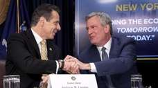 Gov. Andrew M. Cuomo and New York City