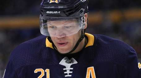 February 1, 2019: Buffalo Sabres right wing Kyle
