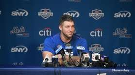 On Saturday, Mets outfielder Tim Tebow talked about