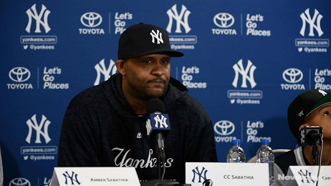 CC Sabathia announced that 2019 would be his