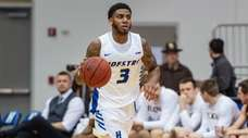 Hofstra Pride guard Justin Wright-Foreman (3) on Feb.