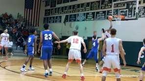 Center Moriches defeated Mattituck, 88-66, to win the