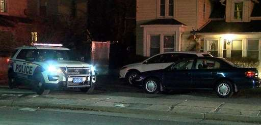 Suffolk County police investigate a collision between a