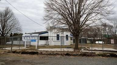 The former Riverhead Town Animal Shelter in Riverhead