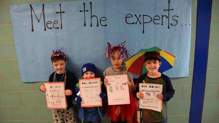 First-graders at Babylon Elementary School wrote a series