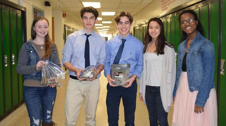 In Greenlawn, Harborfields High School students in Michelle