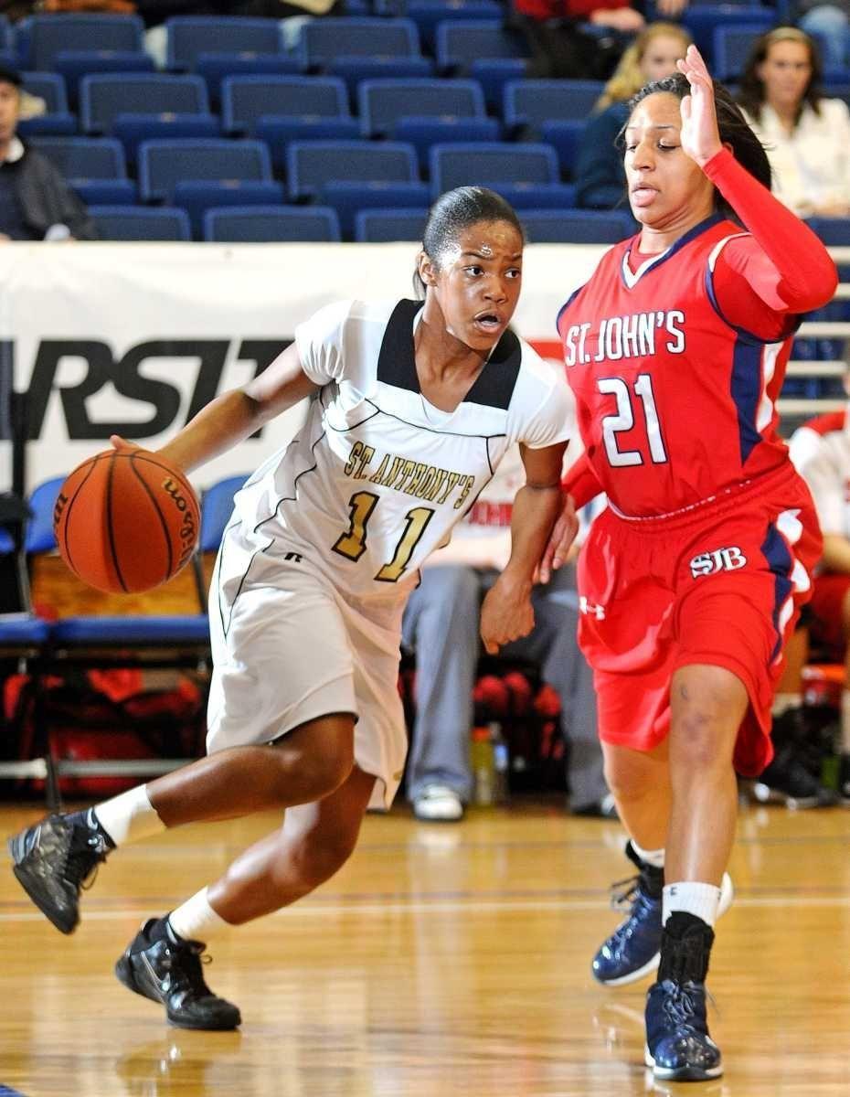 St. Anthony's High School freshman Lauren Williams (11)