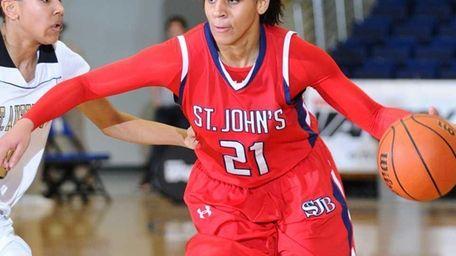 St. John the Baptist High School senior #21