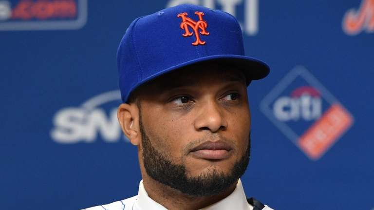 Robinson Cano is introduced as a New York