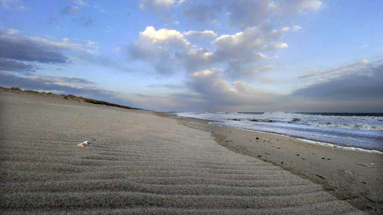 A scene from Main Beach in East Hampton.