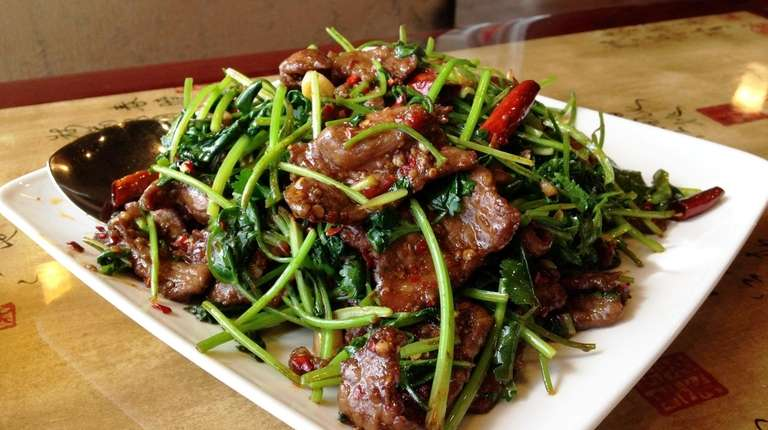 Cumin lamb was a specialty at Yao's Diner