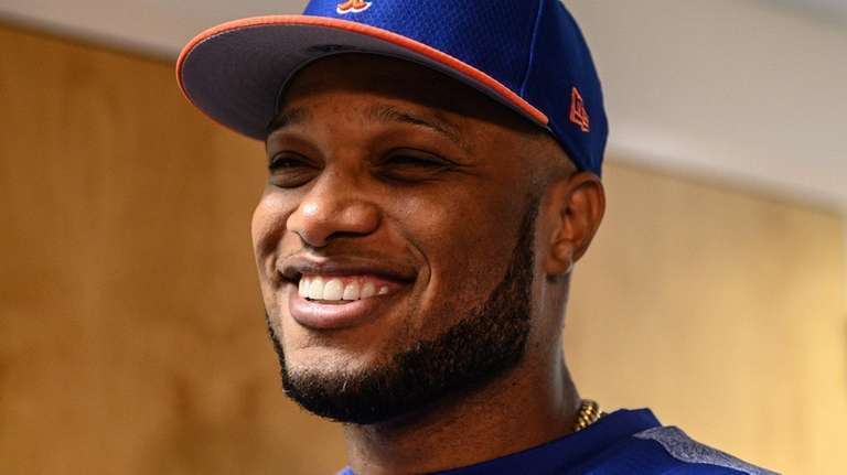 Robinson Cano is all smiles on his first