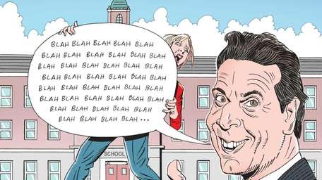 Gov. Cuomo and school cuts