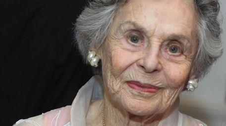 Joan R. Saltzman in 2012.