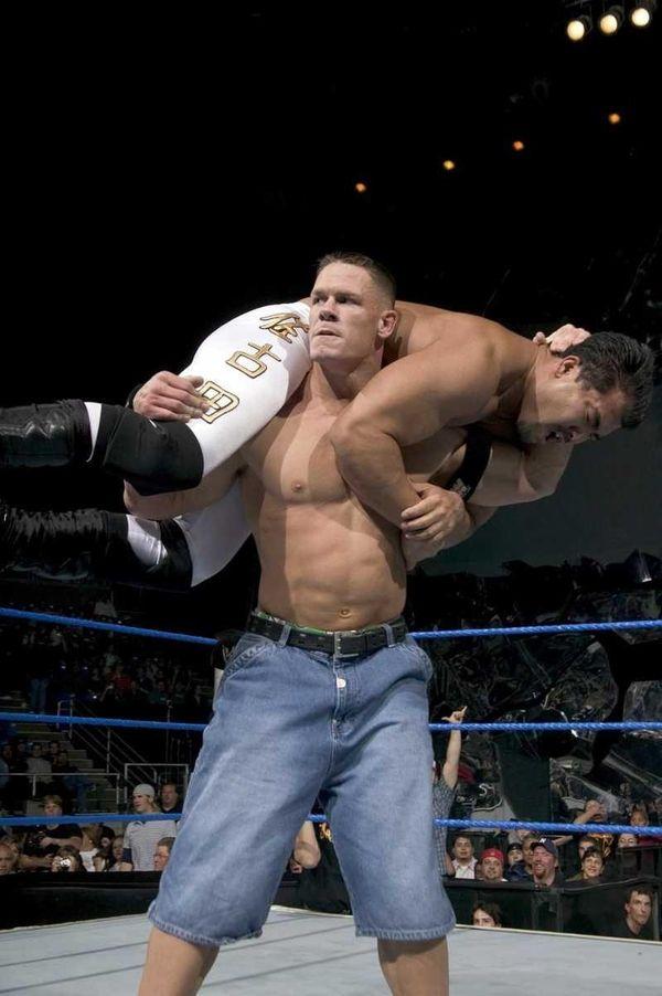 Undated photo of WWE wrestler John Cena for