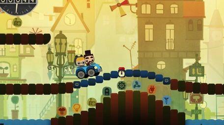 Simogo's new game, Bumpy Road