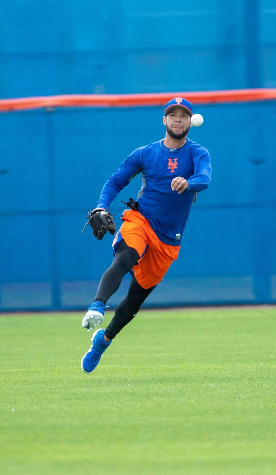 New York Mets player Gregor Blanco during a