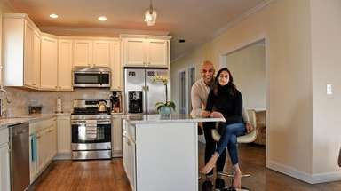 Kavin and Reshma Shah in their Port Washington