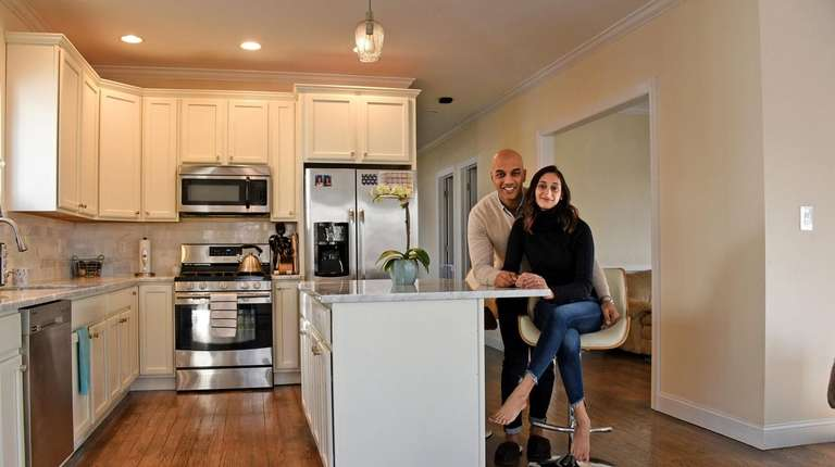 New construction drew Port Washington couple to first home