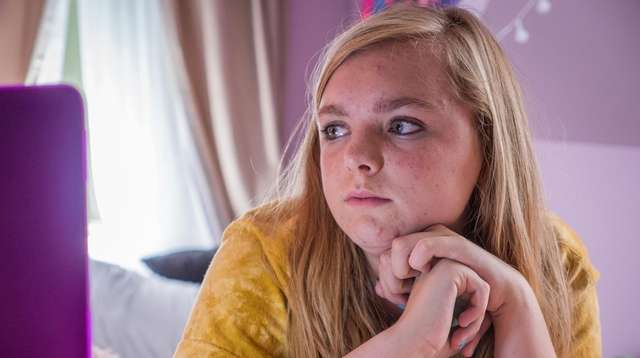 """Elsie Fisher stars in A24 Film's """"Eighth Grade,"""""""