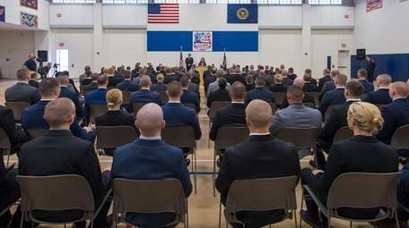 The Suffolk County Police Department swore in 119