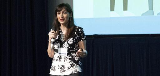 Elnaz Sarabchian, winner of Hofstra University's Healthcare Entrepreneurship