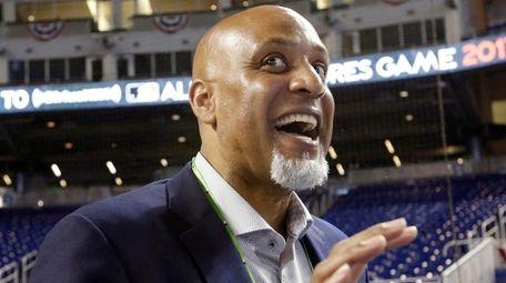 Tony Clark, head of the MLB Players Association,