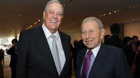 David Koch and Chairman of the Board and