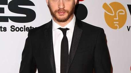 Actor Tom Hardy arrives to the 9th Annual