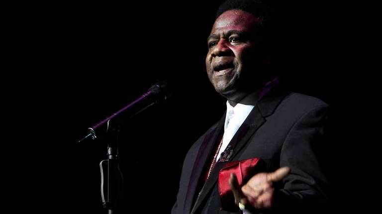 Al Green performs at the Sydney Festival