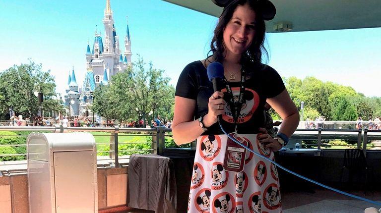 Christina Kay, a WALK 97.5 radio on-air personality