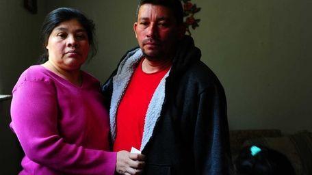 Nicolas and Edita Bonilla react to a judge's