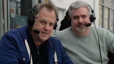 Michael Kay, left, and Don La Greca on