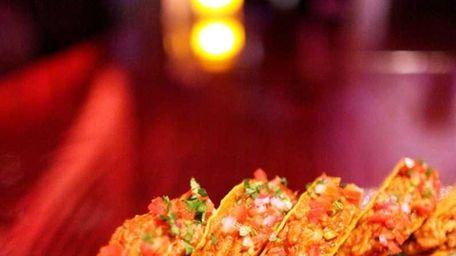 Pulled pork mini tacos at Sugar restaurant in