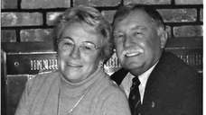 """Ed """"Mickey"""" Reilly and his wife, Gail, will"""