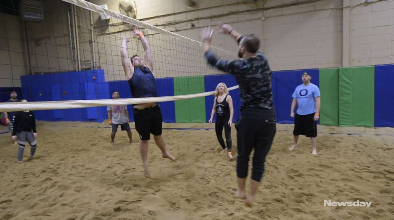 Grown-ups can party in the sand indoors at