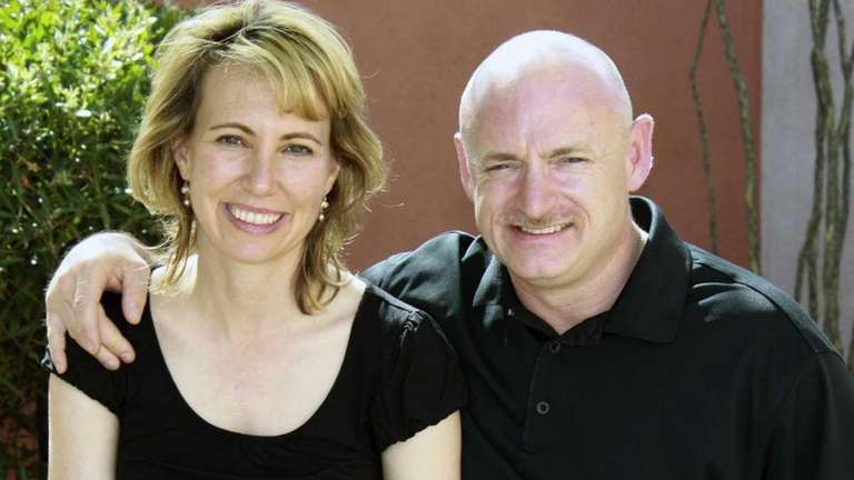 Rep. Giffords and her husband, NASA astronaut Mark