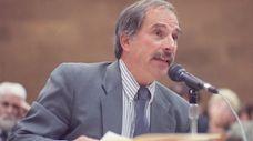 Alan Schneider, personnel director of Suffolk's civil service