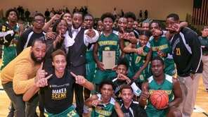 Wyandanch defeated Kings Park, 66-59, to win the