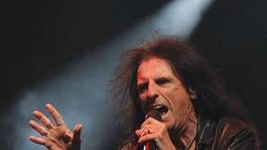 Alice Cooper performs at the Alice Cooper Benefit