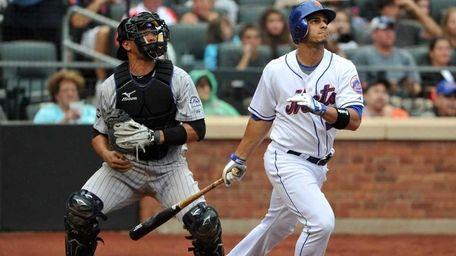 Mets outfielder Fernando Martinez was sent to Triple-A